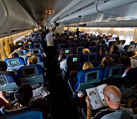 'Uçaktaki herkes beni deli sandı'